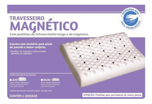 Imagem 1 de 2 de Travesseiro Magnético Perfil Baixo - Perfetto