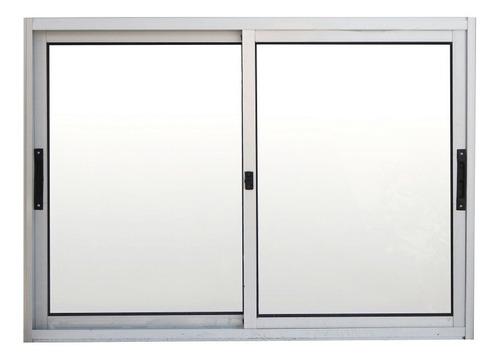 Ventana Aluminio De 1.0 X 80 Corrediza Serie Premium