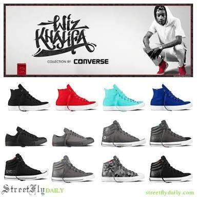 Converse Original Edicion Wiz Khalifa Azules #7ame. 5.5 Mex.