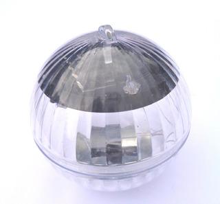 Lampara Esfera Luz Led Solar Flotante Rgb Alberca Estanque
