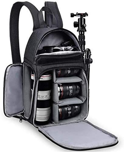 Imagen 1 de 7 de Mochila Para Camara Reflex Nikon Canon Sony Tripode Lente