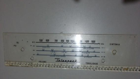Dial Radio Antigo Telespark