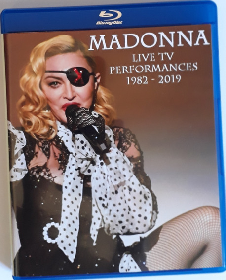 Madonna Historical Live Collection Bluray Duplo 2019
