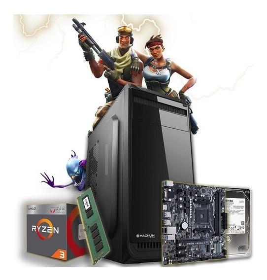 Pc Gamer Armada Amd Ryzen 3 Vega 2200g 1tb 8gb Fortnite Gtia