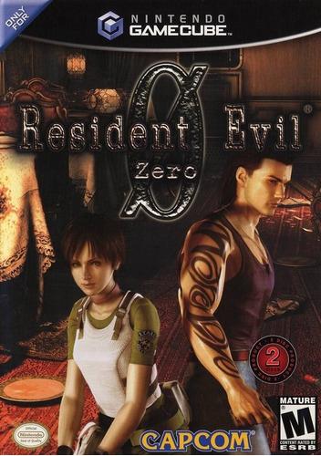 Resident Evil Zero Usado Ngc Nintendo Gamecube Vdgmrs