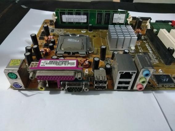 P5gpl-x Se Kit Com Processador E Memoria