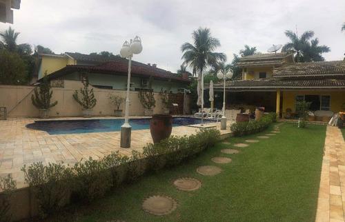 Casa Com 6 Dormitórios À Venda, 290 M² Por R$ 3.200.000,00 - Riviera - Módulo 3 - Bertioga/sp - Ca0331