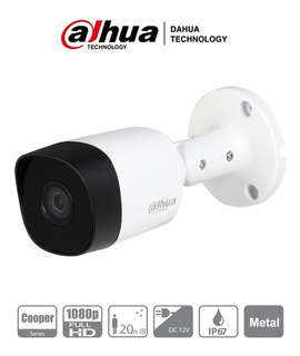 Camara Dahua Cooper B2a21 Hdcvi 1080p Ir 20 Mts 2mp Metal