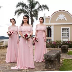 Vestido De Festa - Rosa Claro - Rosa Bb