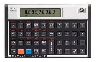 Calculadora Financeira Hp12c Platinum 130 Funções Lacrada