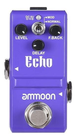 Delay Echo Ammon Nano Pedal Cd001