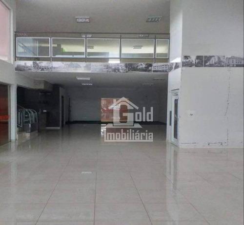 Salão Para Alugar, 311 M² Por R$ 8.000/mês - Alto Da Boa Vista - Ribeirão Preto/sp - Sl0255