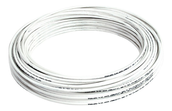 136913 Cable Eléctrico Tipo Thw-ls/thhw-ls Cal8 100m Blanco