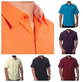 Kit Com 15 Camisas Sociais Masculinas Atacado Revenda