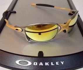 24d84ba1d Oculos Lupa Oakley Double X 24k X Metal Lente Gold Dourada