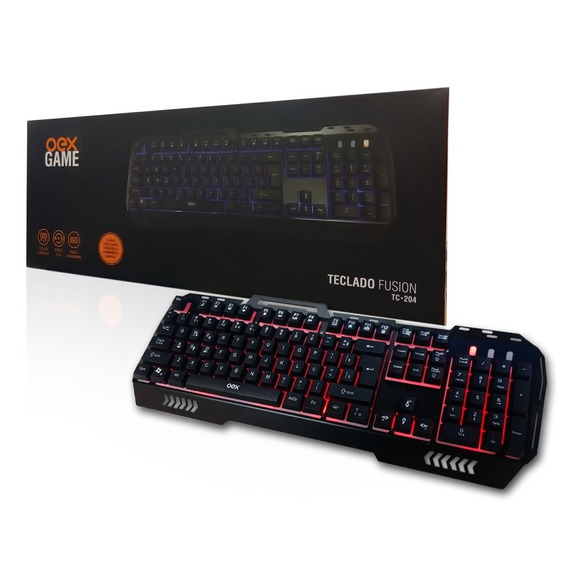 Teclado Gamer Fusion Anti-ghosting Tc204 Oex