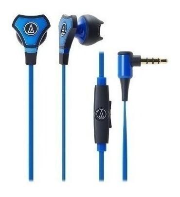 Fone De Ouvido In-ear Audio Technica Ath-chx5is Azul