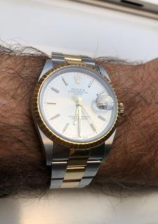 Reloj Rolex 15223 Comb. 18k 2002, Sin Papeles, Igual A Nuevo