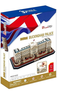 Puzzle 3d Buckingham Palace Cubicfun Mc162h