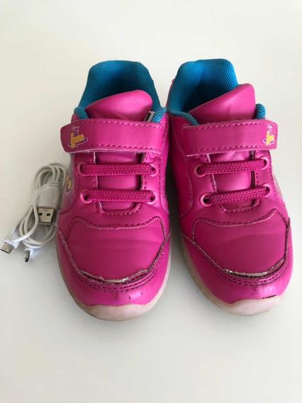 Zapatillas Con Luces Soy Luna