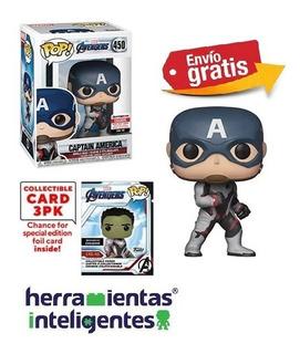Capitán América Avengers Endgame Funko Pop E E Exclusive