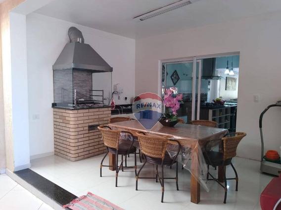 Casa Com 3 Suítes À Venda, 150 M² Por R$ 720.000 - Aruã Eco Park - Mogi Das Cruzes/sp - Ca0111
