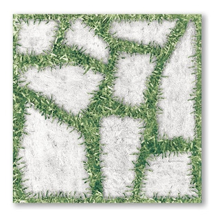 Piso Cerâmico Borda Bold Garden 45x45cm 2m²
