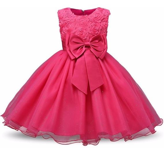 Vestido De Festa Infantil Luxo Aniversário /daminha