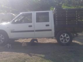 Chevrolet Luv 4x4 Disel Doble Cabina En Estacas