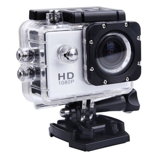Camera 1080p Full Hd Sports - Water Resistant