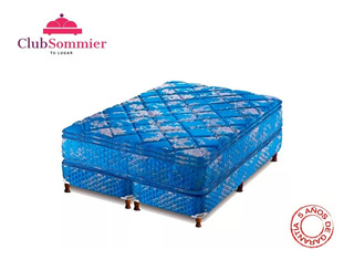 Sommier Piero Continental Con Pillow Resortes 200x160