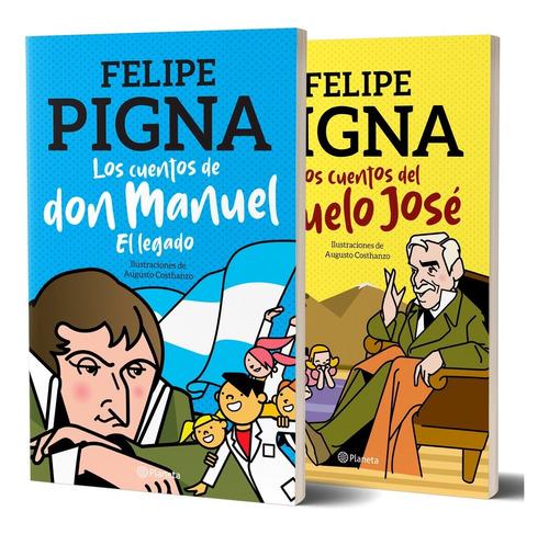 Imagen 1 de 4 de Pack Cuentos Pigna De Felipe Pigna - Planeta Junior