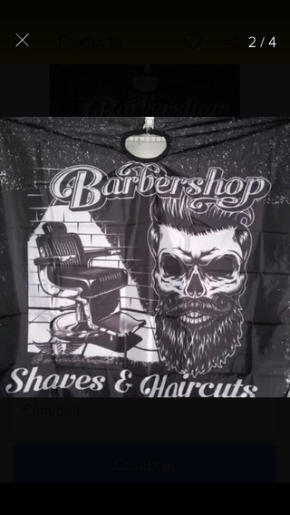 Capas Para Barbería Diseños Barber Shop