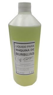 Liquido Para Máquina De Burbujas 1 Litro Ideal Uso Hogareño