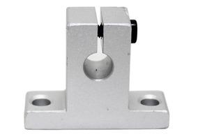 Suporte Para Eixo Linear 16mm Mod Sk16 Aluminio Cnc
