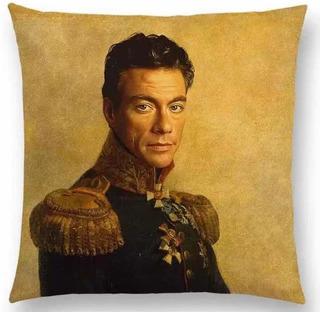 Funda Cojin Van Damme Bonito Y Novedoso Moda