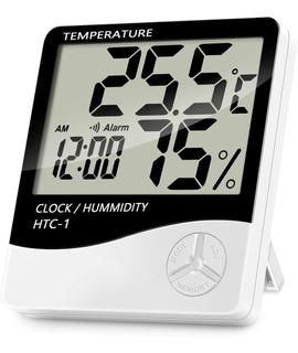 Termohigrometro Digital Htc-1 Bateria Humedad Temperatura