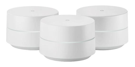 Google Wifi Router Paquete De 3 Doble Banda Ac-1304