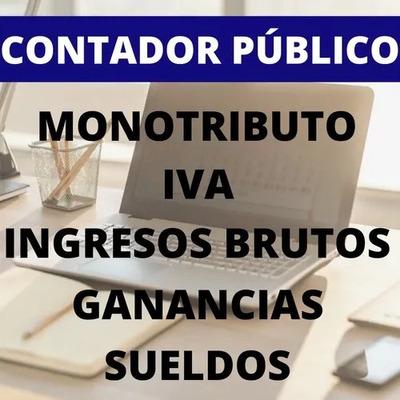 Servicios Online Monotributistas, Ri, Sueldos, Contabilidad.