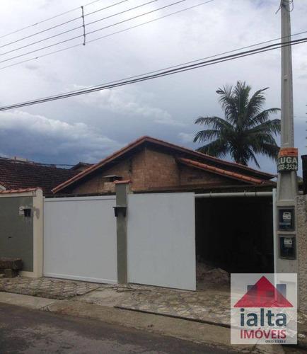 3 Casas À Venda, 260 M² Por R$ 950.000 - Centro - Ubatuba/sp - Ca0012