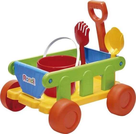 Carrito Wagon Pala+rastri+valde Rondi