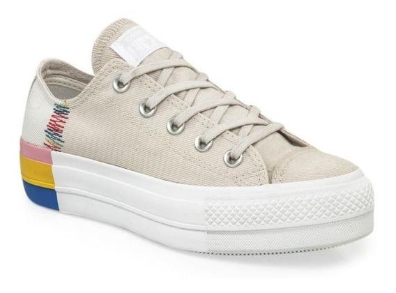 Converse Zapatillas Lifestyle Mujer Ctas Lift Ox Crudo