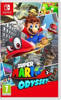 Super Mario Odyssey Switch Juego Nintendo Switch Fisico
