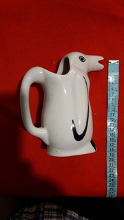 Antiguo Pinguino Para Vino De Colección, Porcelana U.d