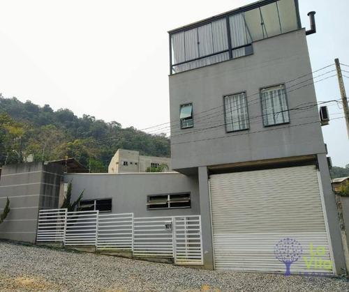 Imagem 1 de 22 de Casa Com 2 Dormitórios À Venda, 320 M² Por R$ 550.000,00 - Salto Weissbach - Blumenau/sc - Ca0590