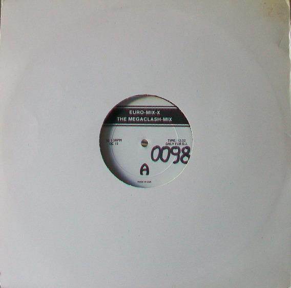 Euro-mix-the Clash - Duran Duran Disco Vinilo