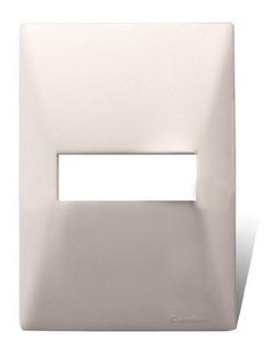 Tapa Cambre 1/2/3/4 Módulos Blanca Línea Siglo Xxii Pack X5