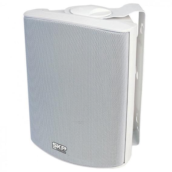 Caixa Acústica Skp Sk-105 Branca (par)