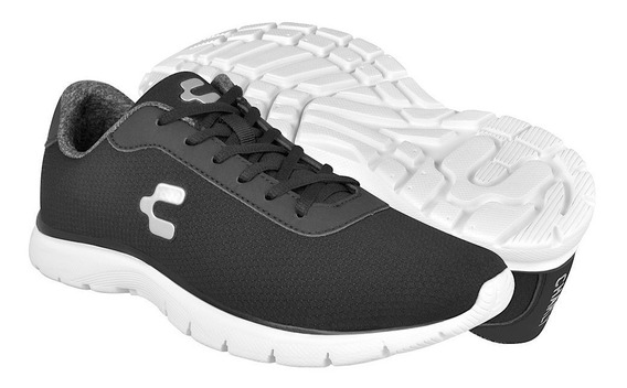 Tenis Casuales Para Caballero Charly 1029269 Negro