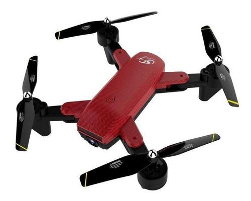 Drone Toysky CSJ S169 con cámara con dual cámara HD red